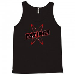 bazinga logo inspired by the big bang theory ideal birthday gift Tank Top | Artistshot