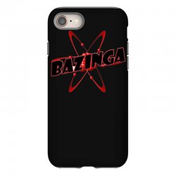 bazinga logo inspired by the big bang theory ideal birthday gift iPhone 8 Case | Artistshot