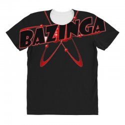 bazinga logo inspired by the big bang theory ideal birthday gift All Over Women's T-shirt | Artistshot