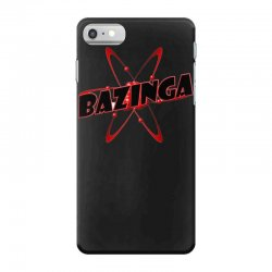 bazinga logo inspired by the big bang theory ideal birthday gift iPhone 7 Case | Artistshot