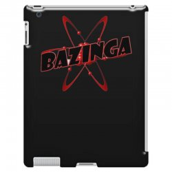 bazinga logo inspired by the big bang theory ideal birthday gift iPad 3 and 4 Case | Artistshot