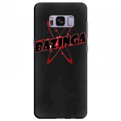bazinga logo inspired by the big bang theory ideal birthday gift Samsung Galaxy S8 Plus Case | Artistshot