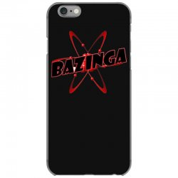 bazinga logo inspired by the big bang theory ideal birthday gift iPhone 6/6s Case | Artistshot