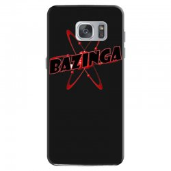 bazinga logo inspired by the big bang theory ideal birthday gift Samsung Galaxy S7 Case | Artistshot