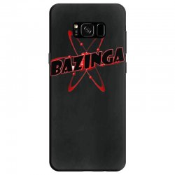 bazinga logo inspired by the big bang theory ideal birthday gift Samsung Galaxy S8 Case | Artistshot