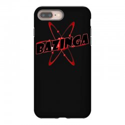 bazinga logo inspired by the big bang theory ideal birthday gift iPhone 8 Plus Case | Artistshot
