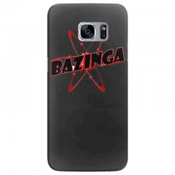 bazinga logo inspired by the big bang theory ideal birthday gift Samsung Galaxy S7 Edge Case | Artistshot