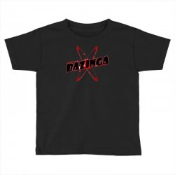 bazinga logo inspired by the big bang theory ideal birthday gift Toddler T-shirt | Artistshot