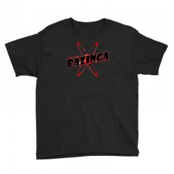 bazinga logo inspired by the big bang theory ideal birthday gift Youth Tee | Artistshot