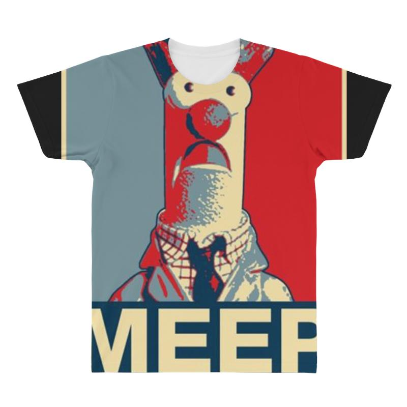 Beaker Meep Poster Ideal Birthday Gift Or Present All Over Mens T Shirt