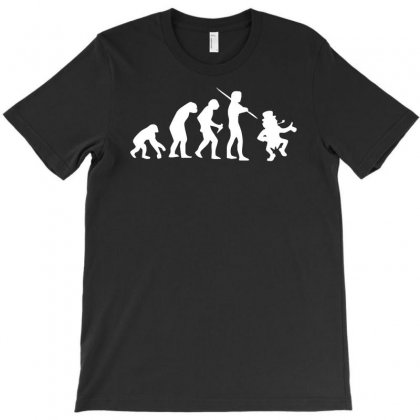 Evolution Of Leprechaun Funny  Irish Ireland St Patricks Day Us T-shirt Designed By Mdk Art