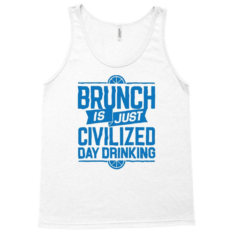 f14046b946364 Custom Brunch Day Drinking Tank Top By Mdk Art - Artistshot