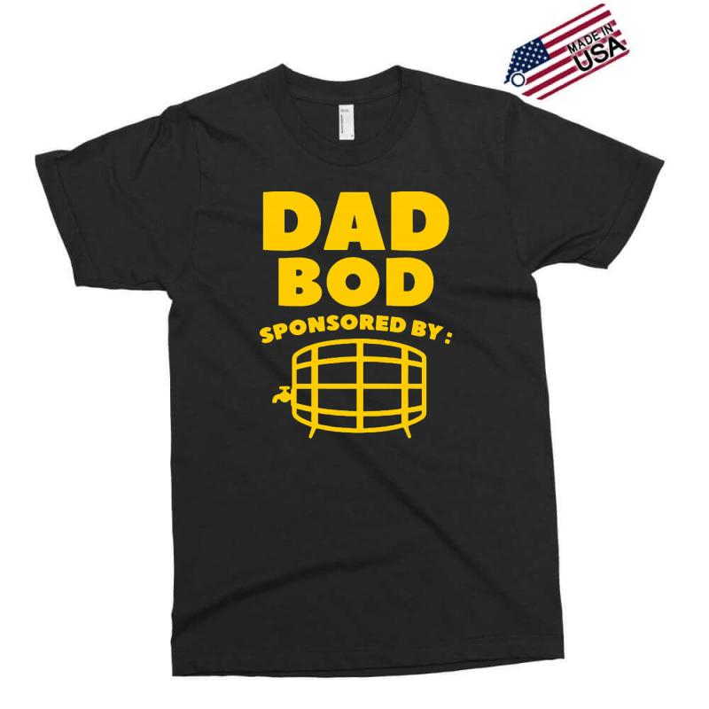 8f40028e Custom Dad Bod Exclusive T-shirt By Mdk Art - Artistshot