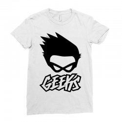 geeks Ladies Fitted T-Shirt | Artistshot