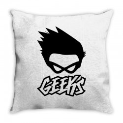 geeks Throw Pillow | Artistshot