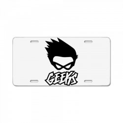 geeks License Plate | Artistshot