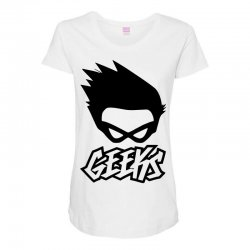 geeks Maternity Scoop Neck T-shirt | Artistshot