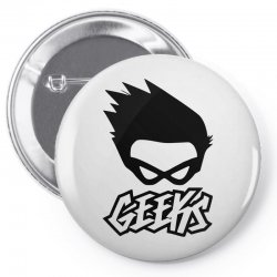 geeks Pin-back button | Artistshot