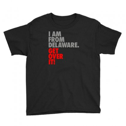 Delaware State Trending Youth Tee Designed By Mdk Art