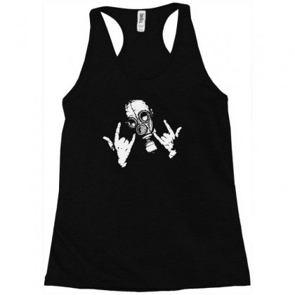 Devil Horns Racerback Tank Designed By Mdk Art