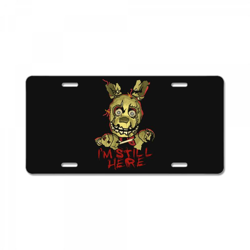 Five Nights At Freddy's Springtrap License Plate | Artistshot
