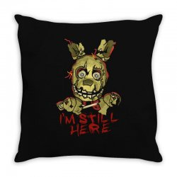 five nights at freddy's springtrap Throw Pillow | Artistshot