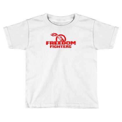 Freedom Fighters Toddler T-shirt Designed By Mdk Art
