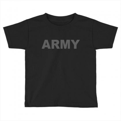 Army   Classic Toddler T-shirt Designed By Mdk Art