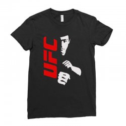 bruce lee family ufc Ladies Fitted T-Shirt | Artistshot