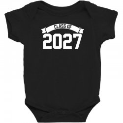 class of 2027 novelty high school elementary Baby Bodysuit | Artistshot