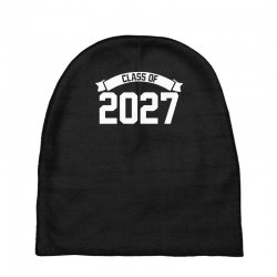 class of 2027 novelty high school elementary Baby Beanies | Artistshot