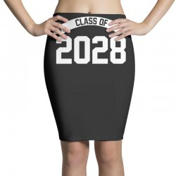 class of 2028 novelty high school elementary Pencil Skirts | Artistshot