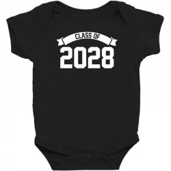 class of 2028 novelty high school elementary Baby Bodysuit | Artistshot