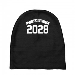 class of 2028 novelty high school elementary Baby Beanies | Artistshot