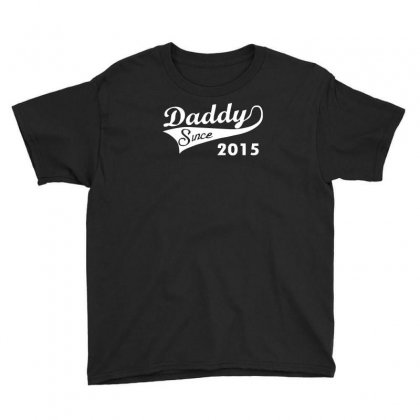 Daddy Since 2015   Mens Funny Youth Tee Designed By Mdk Art