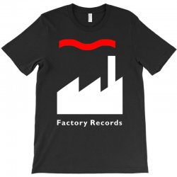 factory records   retro record label   mens music T-Shirt | Artistshot