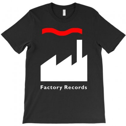 Factory Records   Retro Record Label   Mens Music T-shirt Designed By Mdk Art