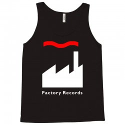 factory records   retro record label   mens music Tank Top | Artistshot