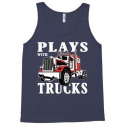 plays with trucks family matching Tank Top | Artistshot