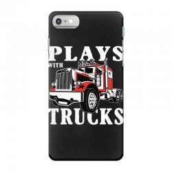 plays with trucks family matching iPhone 7 Case   Artistshot