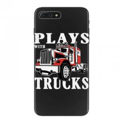 plays with trucks family matching iPhone 7 Plus Case   Artistshot