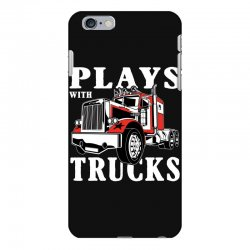 plays with trucks family matching iPhone 6 Plus/6s Plus Case   Artistshot