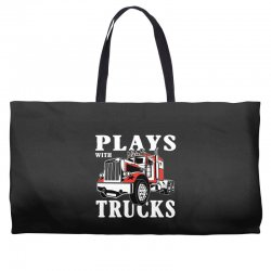 plays with trucks family matching Weekender Totes   Artistshot