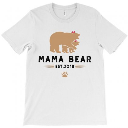 Mama Bear T-shirt Designed By Akin