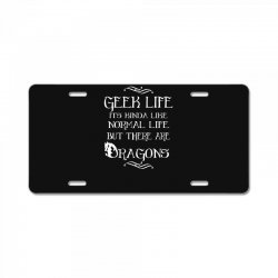 geek life License Plate | Artistshot