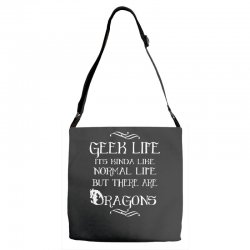 geek life Adjustable Strap Totes | Artistshot