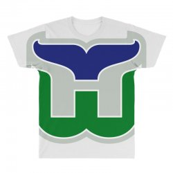 hartford whalers logo All Over Men's T-shirt | Artistshot
