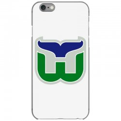 hartford whalers logo iPhone 6/6s Case | Artistshot