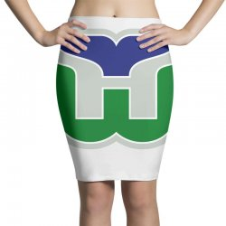 hartford whalers logo Pencil Skirts | Artistshot