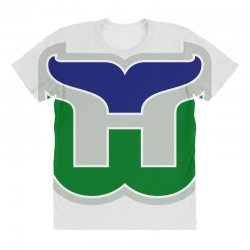 hartford whalers logo All Over Women's T-shirt | Artistshot